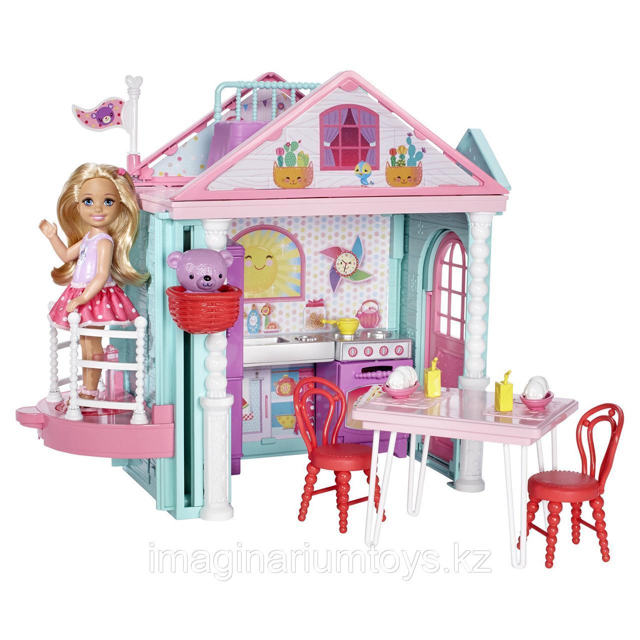 Barbie  кукольный домик Челси