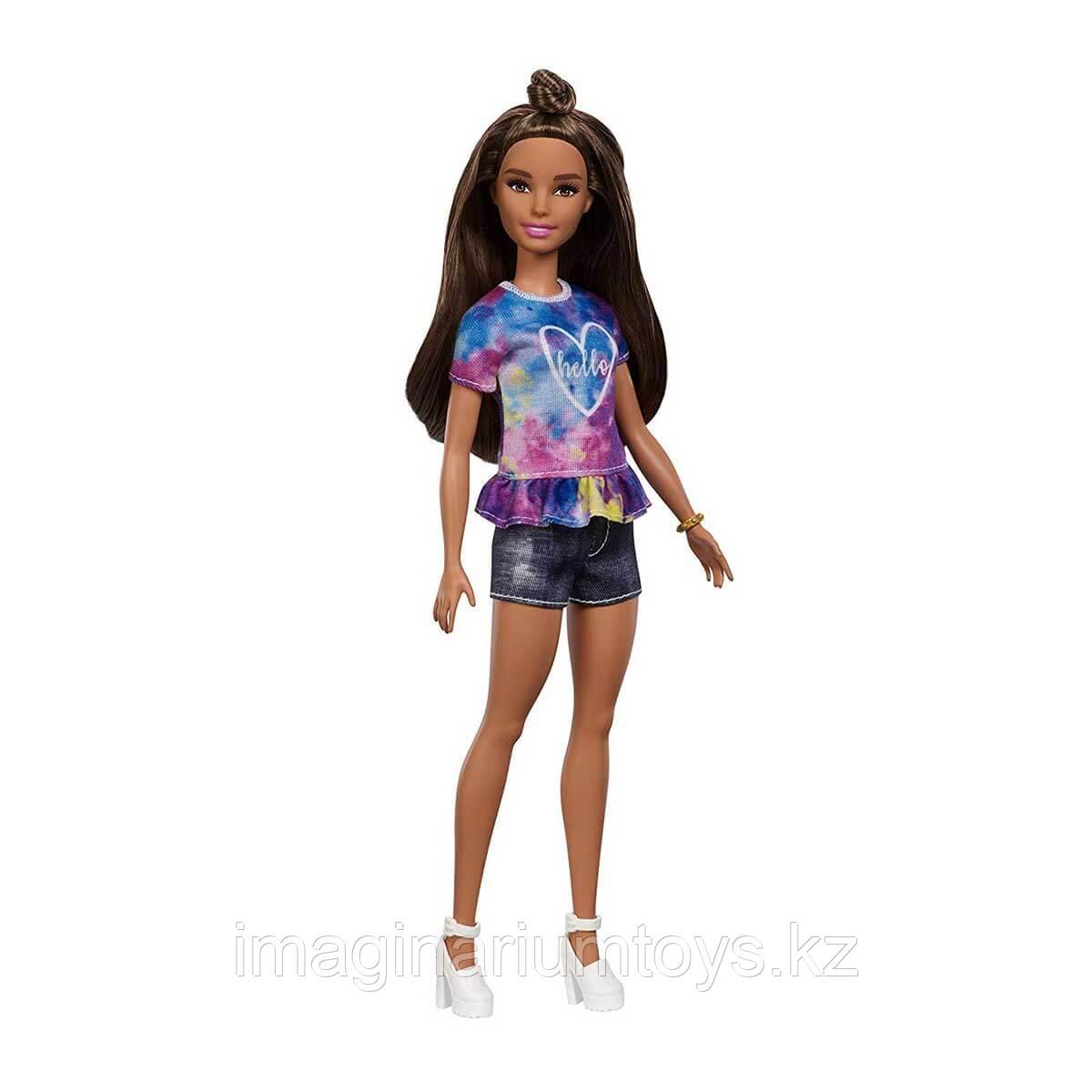 Кукла Барби модница шатенка #112 - фото 1