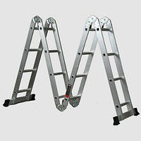 Шарнирная лестница трансформер 4х4