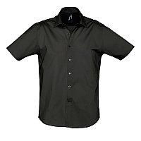 Рубашка мужская BROADWAY 140, Черный, 4XL, 717030.312 4XL
