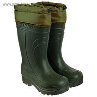 Сапоги мужские ЭВА «Мороз» Д333-КНУ -45С, цвет олива, размер 43-44