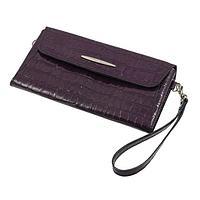 Портмоне женское, 1 отдел для купюр, для монет, для кредитных карт, цвет фиолетовый