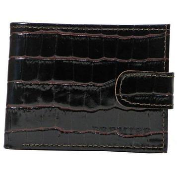 Портмоне мужское, отдел для купюр, монет, карт, цвет коричневый