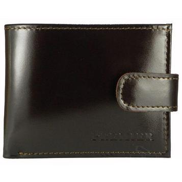 Портмоне мужское, 1 отдел, для купюр, монет, карт, цвет коричневый