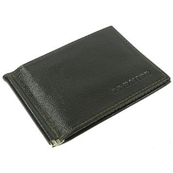 Портмоне с зажимом M-53-328, 11,2*1,2*9,отд на карточек, коричневый