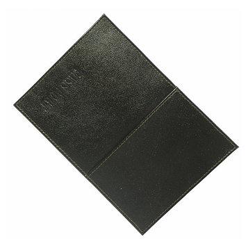 Обложка для паспорта с карманом, цвет коричневый