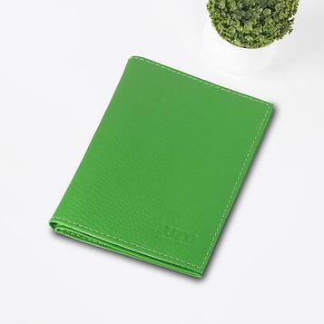Обложка для паспорта и автодокументов, цвет зелёный