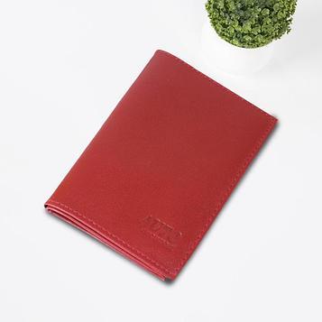 Обложка для паспорта и автодокументов, цвет красный