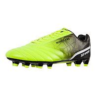 Футбольные бутсы 2K Sport Hurricane FG, lime/black, размер 39,5