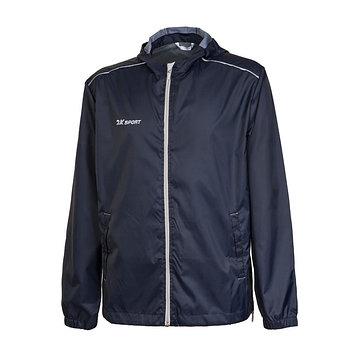 Куртка ветрозащитная 2K Sport Futuro, navy/silver, размер XXL