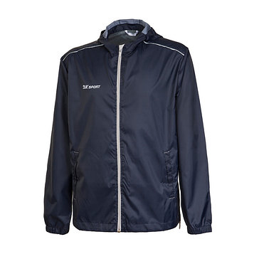Куртка ветрозащитная 2K Sport Futuro, navy/silver, размер YS