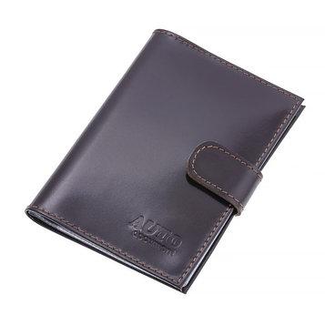 Бумажник водителя, натуральная кожа, цвет коричневый