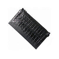 Cумка для документов муж., размер 12,5х21,5 см, н/к, чёрный кайман