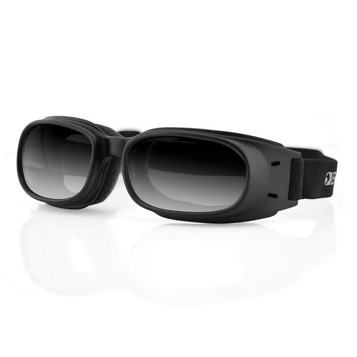 Очки Piston чёрные с зеркальными линзами