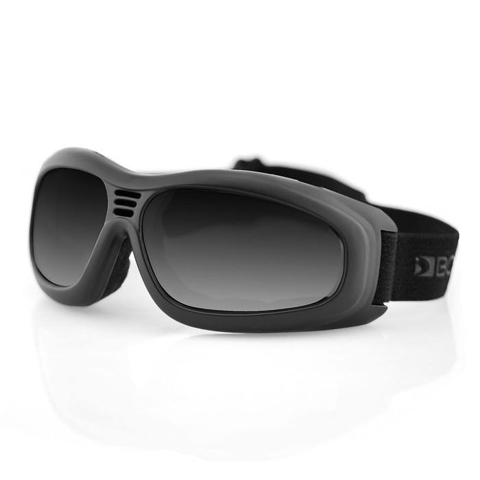 Очки Touring II чёрные с дымчатыми линзами ANTIFOG