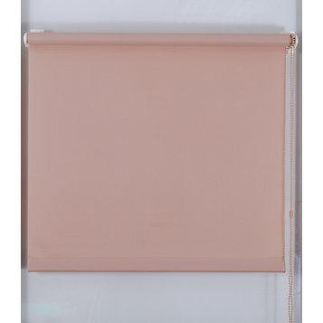Рулонная штора «Простая MJ», размер 75х160 см, цвет какао