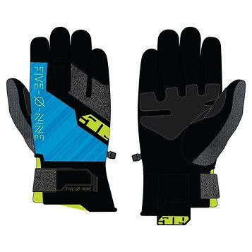 Перчатки 509 Freeride с утеплителем, чёрный, синий, жёлтый, 2XL