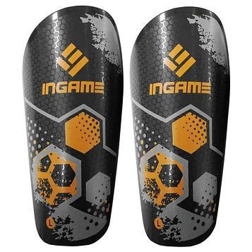 Щитки футбольные Ingame Freestyle IF-401, оранжевый L