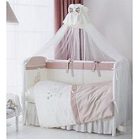 Комплект детского постельного белья PERINA 6 предметов КОТЯТА Карамель