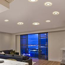 Светильники встраиваемые светодиодные, для торговых помещений, потолочные светильники, споты