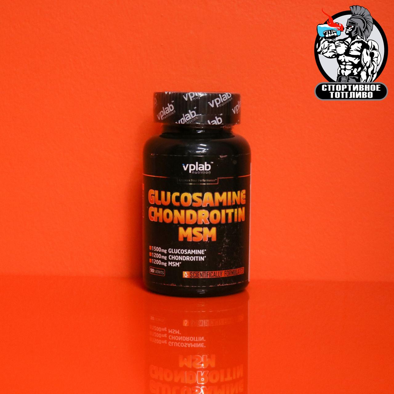 VPLab - Glucosamine, Chonndroitin, MSM 180табл/30 порций