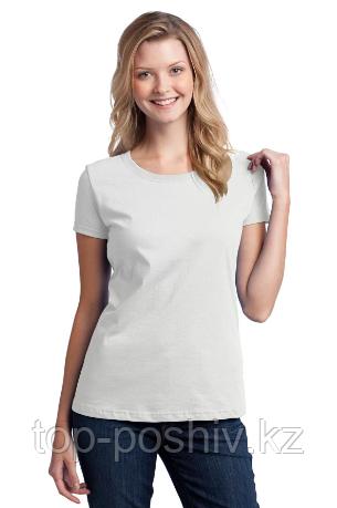 "Футболка для сублимации Эволюшен Премиум ""Style Woman"", цвет белый, размер: 50(L)"