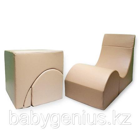 Терапевтическое кресло-кубик для взрослых, фото 2