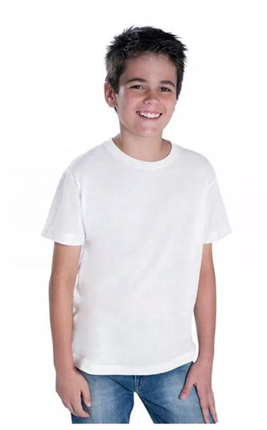 "Футболка для сублимации Эволюшен Премиум ""Fashion kid"""", цвет белый, размер: 26(104)"