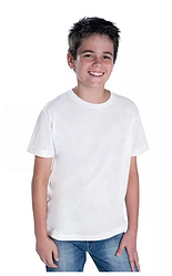 Футболка для сублимации Эволюшен Премиум, Fashion kid, цвет белый, размер: 30