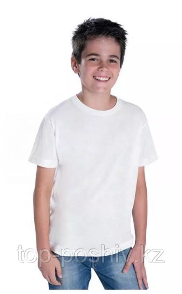 "Футболка для сублимации Эволюшен Премиум ""Fashion kid"""", цвет белый, размер: 32(128)"