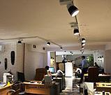 Светильник светодиодный направленного освещения 20 ватт, трековый светильник, светильники для торговых залов, фото 3