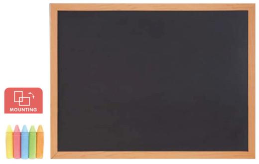 Доска меловая Comix BB4560 (Настенная, 45*60 см, для письма, Black)