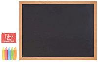 Доска меловая Comix BB4560 (Настенная, 45*60 см, для письма, Black), фото 1
