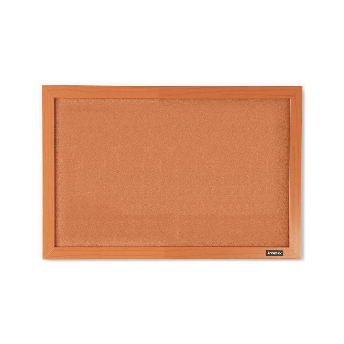 Доска пробковая Comix BC4560 (Настенная, 45*60 см, для объявлений, Brown)