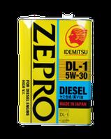 Масло моторное Idemitsu Zepro Diesel DL-1 5W-30, 4л