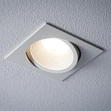Встраиваемые светодиодные светильники от 3 до 45 ватт. Цена от 500 до 30 000 тг. Цвет свечения: от 2800-6500 К, фото 5