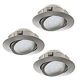 Встраиваемые светодиодные светильники от 3 до 45 ватт. Цена от 500 до 30 000 тг. Цвет свечения: от 2800-6500 К, фото 4