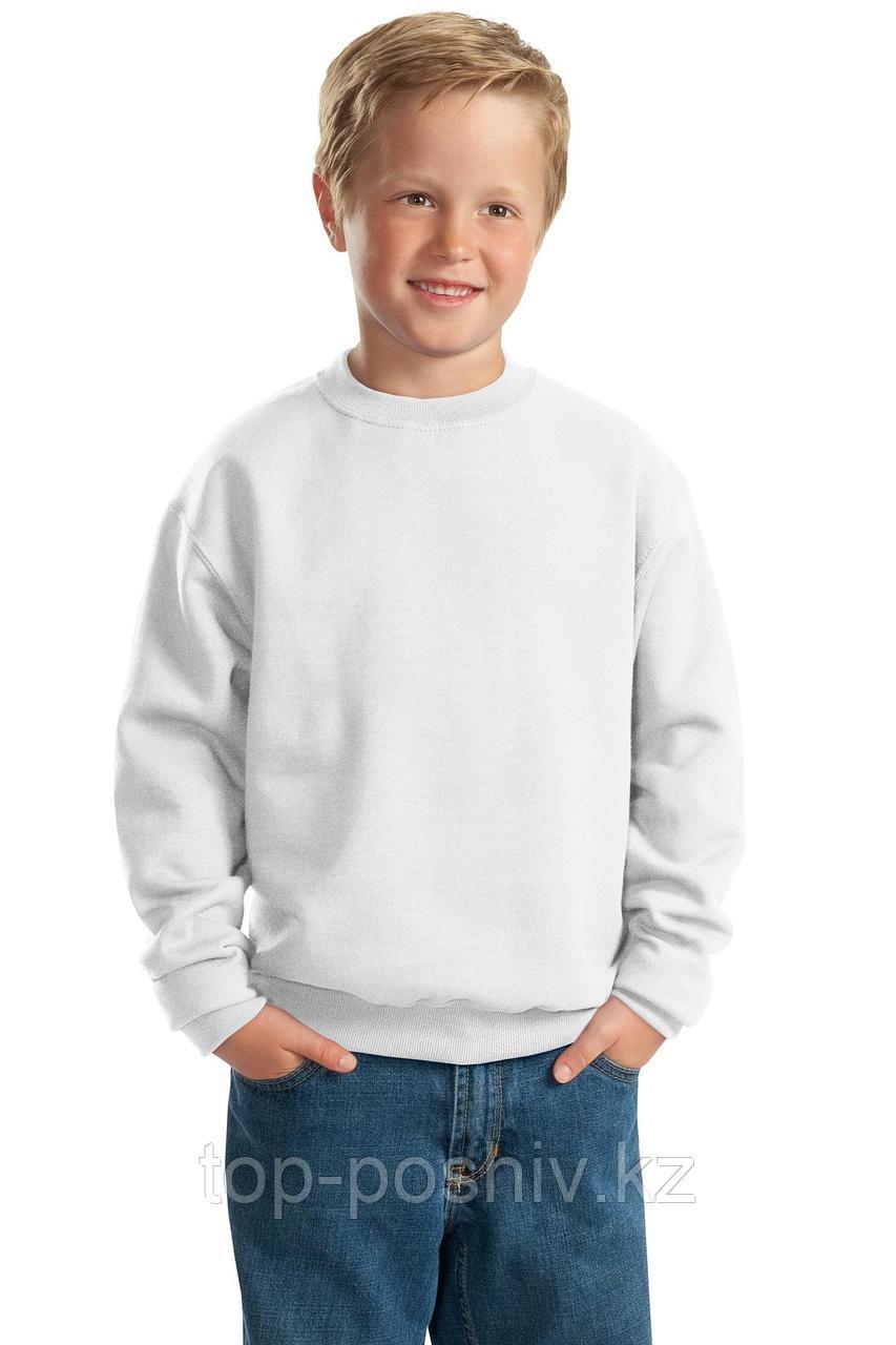 "Свитшот ФУТЕР (р-р: 28) ""Fashion kid"" цвет: белый"