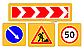 Жол белгілеріне арналған дайындама/ Заготовка для дорожных знаков, фото 9