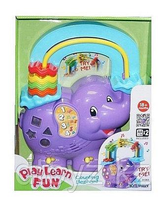 Keenway Музыкальная игрушка-считалка Веселый слоник 31363