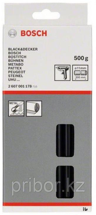 Набор черных стержней Bosch Ø 11x200 мм для клеевого пистолета