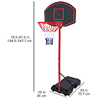 Баскетбольная стойка M018, фото 2