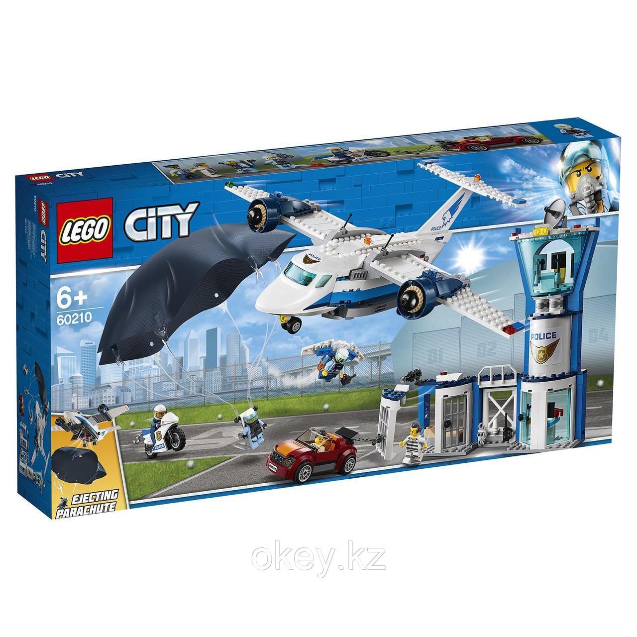 LEGO City: Воздушная полиция: Авиабаза 60210