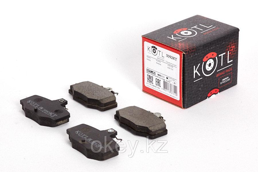 Тормозные колодки Kötl 3092KT