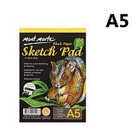 Блокнот Skeatch Pad чер и бел бумага А5