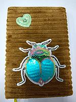 Блокнот меховые жуки