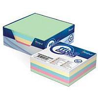 Бумага д/заметок 9х9см в картонной подставке, 300л, цветной