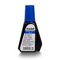 "Краска штемпельная синяя  ""TRODAT"" 28мл."