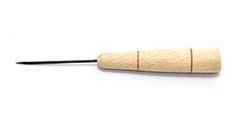 Шило канцелярское с деревянной ручкой