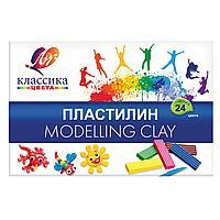 "Пластелин ""КЛАССИКА"" 24 цв 480 г."